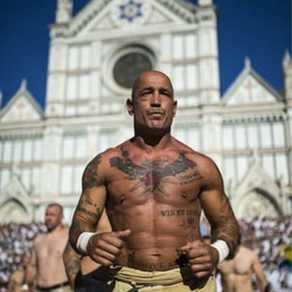 Calcio Storico - Parade of Beautiful Men
