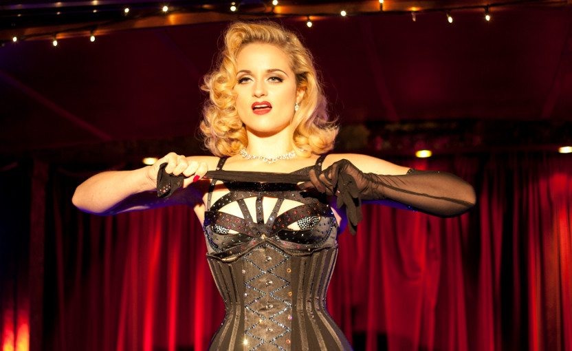 spotlight advanced burlesque course