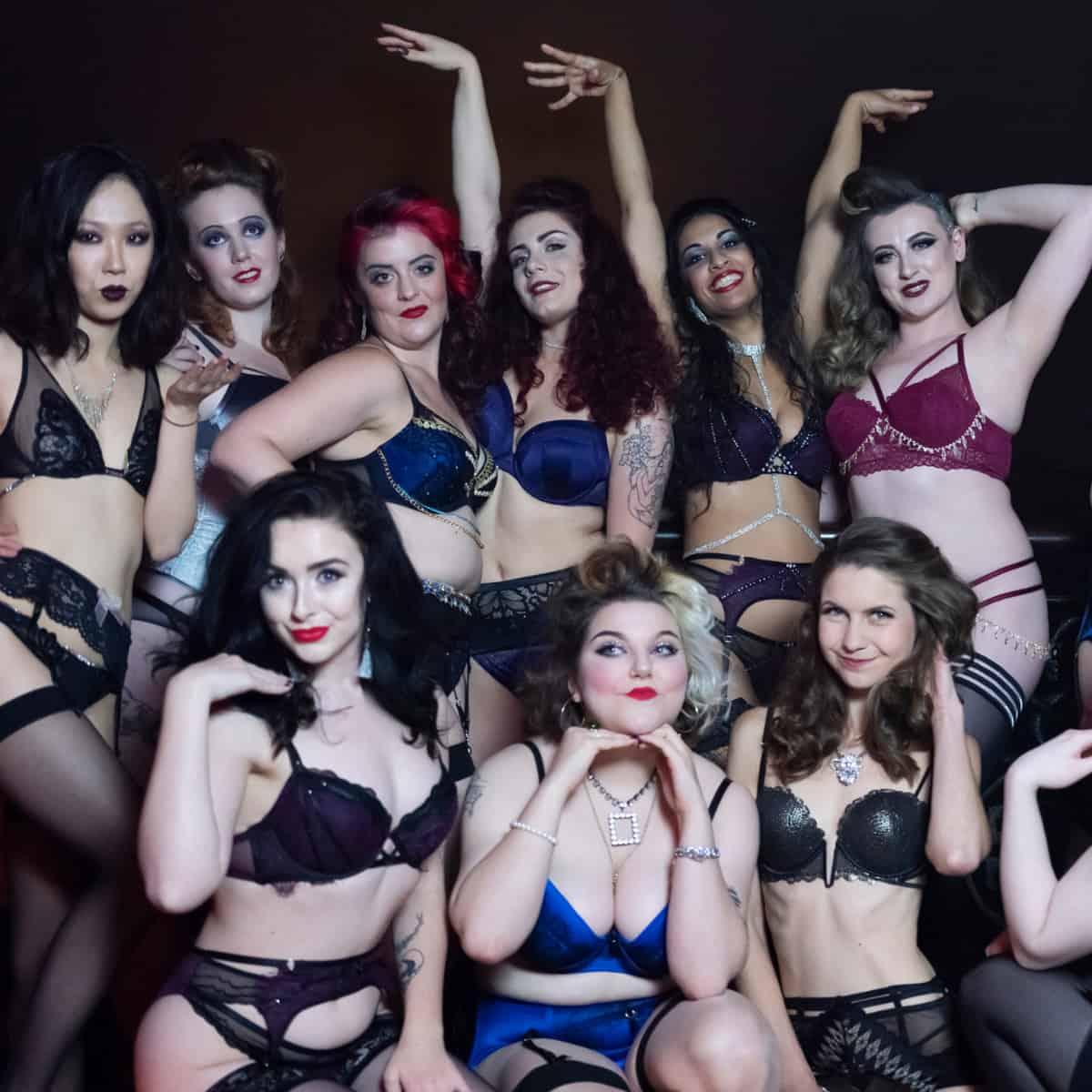 The Temptress - Burlesque Hen Party